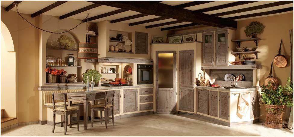 Emejing Cucina In Finta Muratura Images - Amazing House Design ...