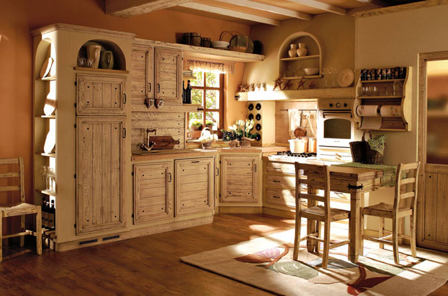 Cucina Giulietta in finta muratura